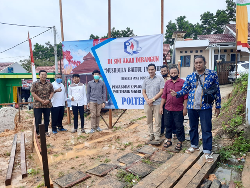 PKM: Perancangan & Perencanaan Musholla Baitul Jannah di Perumahan Griya Diva Residence, Balikpapan