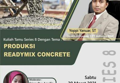 Ikuti Kuliah Tamu Produksi Ready Mix