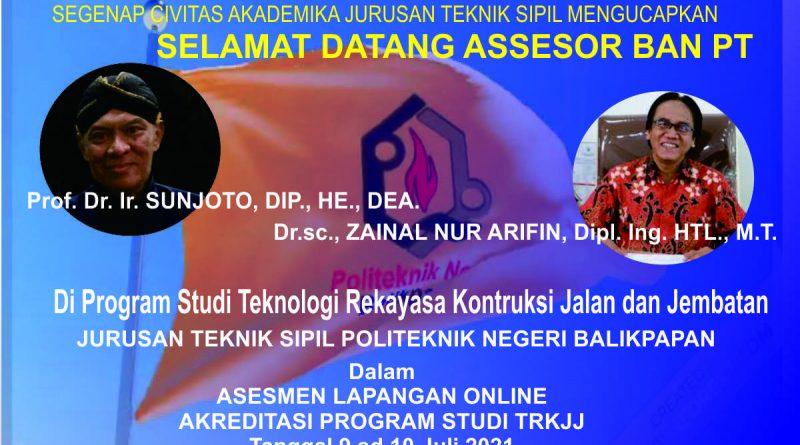 Selamat Datang Assesor BAN PT